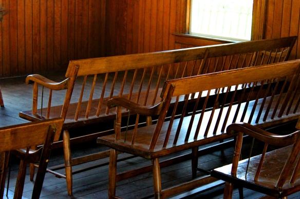 church-benches