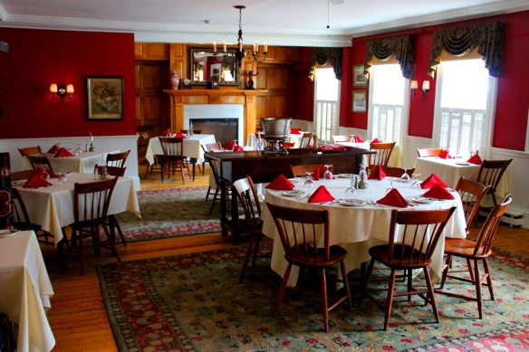 dorset inn dining room