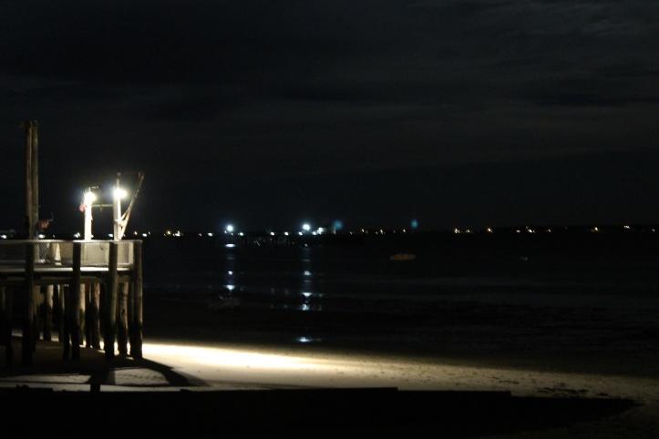 Bay at night - Masthead Inn