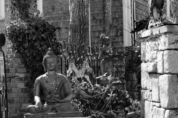 Buddah in the garden