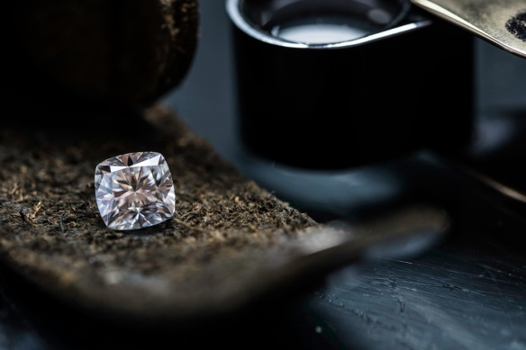 Diamond cushion cut